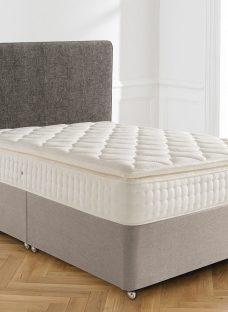Silentnight Brampton Sprung-Edge Divan Bed - Medium 6'0 Super King Natural