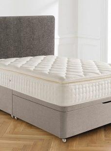 Silentnight Brampton Mirapocket Ottoman Bed - Medium 4'6 Double Natural