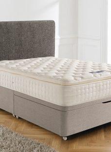 Silentnight Chantilly Mirapocket Ottoman Bed - Firm 4'6 Double Natural