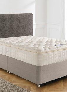 Silentnight Chantilly Mirapocket Divan Bed - Firm 3'0 Single Natural