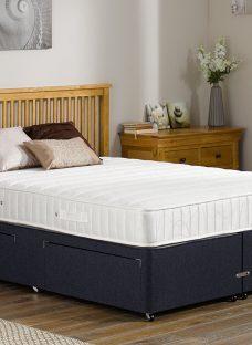 Kendall Pocket Sprung Divan Bed - Firm - Blue 4'6 Double