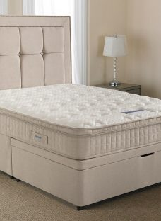Silentnight Langley Mirapocket Ottoman Bed - Medium 6'0 Super King Off White