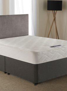 Silentnight Lyndhurst Miracoil Divan Bed - Firm 4'6 Double Grey