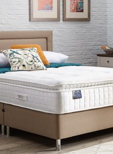TheraPur ActiGel Plus 3000 Divan Bed with Legs - Medium - Oatmeal 4'6 Double Other