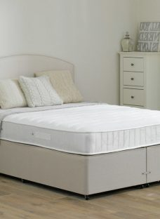 Wakefield Pocket Sprung Divan Bed - Firm - Beige 4'6 Double Off White