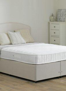 Wakefield Pocket Sprung Divan Bed - Firm - Beige 5'0 King Off White