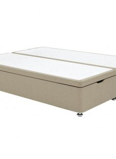 New Sealy Ottoman Base Only 4'6 Double BEIGE