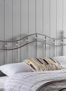 Louis Headboard 5'0 King SILVER