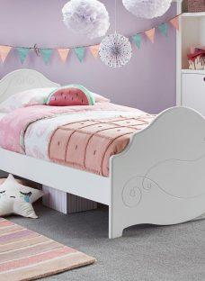Alice Bed Frame WHITE