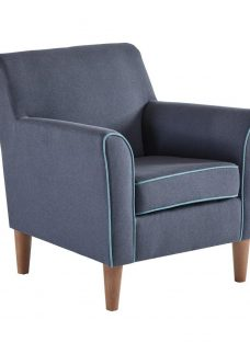 Stratford Indigo & Teal Chair