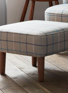 Salisbury Fog Grey Foot Stool
