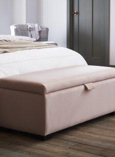 Salisbury Petal Pink Blanket Box