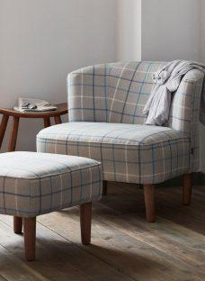 Salisbury Fog Grey Chair