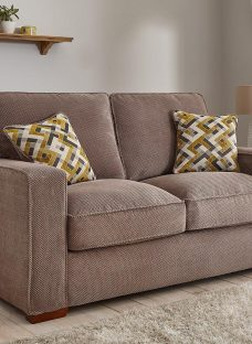Farris Sofa Bed 3 Seater BROWN