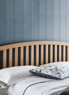 Adelaide Headboard 4'6 Double BROWN