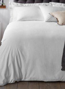 Doze Easy Care Duvet Cover 3'0 Single WHITE