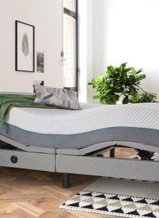 Sleepmotion 900i Adjustable Bed Frame 6'0 Super king GREY