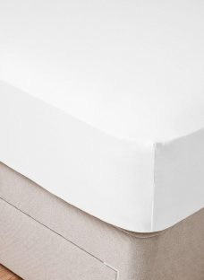 Tempur-Fit Double Fitted Sheet White 4'6 Double
