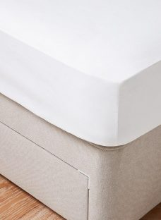 Doze Anti-Allergy Fitted Sheet 4'6 Double WHITE