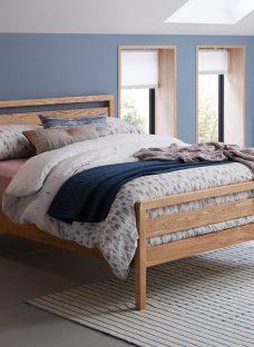 Woodstock Wooden Bed Frame 3'0 Single OAK