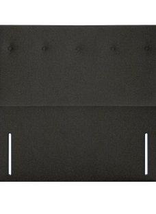 Juniper SK Full Height H/B Tweed Charcoal 6'0 Super king