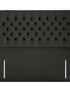 Bracken K Full Height H/B Tweed Charcoal 5'0 King