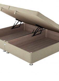 Therapur D Ottoman Base Only Tweed Biscuit 4'6 Double OATMEAL