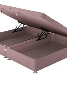 Therapur D Ottoman Base Only Tweed Blush 4'6 Double