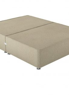 Therapur K P/T 0 Drw Base Only Tweed Biscuit 5'0 King OATMEAL