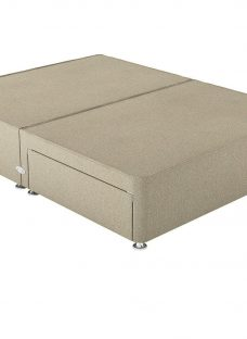 Therapur 4'0 P/T 2 Drw Base Only Tweed Biscuit 4'0 Small double OATMEAL