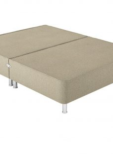 Therapur D P/T 0 Drw Leg Base Only Tweed Biscuit 4'6 Double OATMEAL
