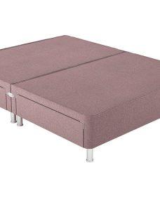 Therapur K P/T 4 Drw Leg Base Only Tweed Blush 5'0 King