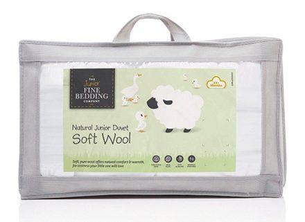 Junior Fine Bedding Soft Wool Toddler Duvet Toddler