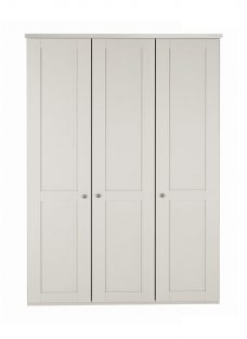 Sloane 3 Door Wardrobe - Champagne CREAM