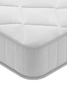 Brooke Traditional Spring Mattress - Medium 2'6 Small single