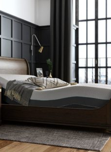 Otis Sleepmotion 200i Adjustable Wooden Bed Frame 6'0 Super king BROWN