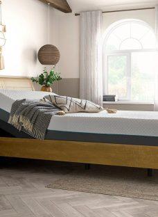 Kensington Sleepmotion 200i Adjustable Wooden Bed Frame 5'0 King BROWN