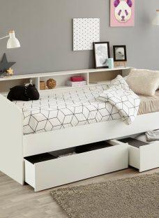 Jamie Day Bed Frame with Storage