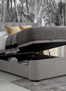 Wells Grey Ottoman Bed Frame 4'6 Double