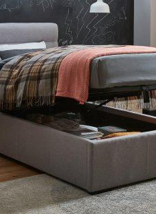 Dawson Single Ottoman Sound System Bed