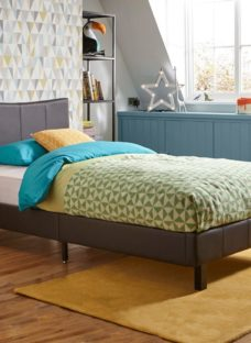 Jakarta Single Bed Frame 3'0 Single BROWN