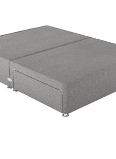 Therapur 4'0 P/T 2 Drw Base Only Tweed Grey 4'0 Small double
