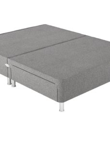 Therapur D P/T 2 Drw Leg Base Only Tweed Grey 4'6 Double