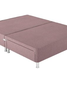 Therapur S P/T 2 Drw Leg Base Only Tweed Blush 3'0 Single PINK
