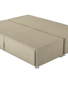 Therapur 4'0 P/T Hideaway Base Only Tweed Biscuit 4'0 Small double BEIGE