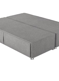 Therapur D P/T Hideaway Base Only Tweed Grey 4'6 Double