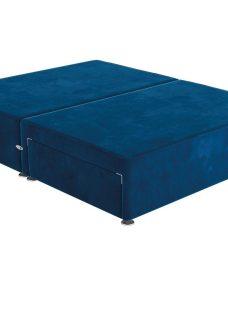 Sleepeezee D P/T 2 Drw Base Plush Navy 4'6 Double BLUE