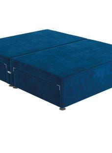 Sleepeezee 4'0 P/T 2+2 Drw Base Plush Navy 4'0 Small double BLUE