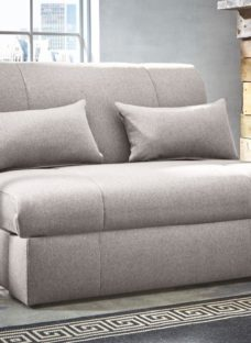 Kelso Sofa Bed Single BLACK