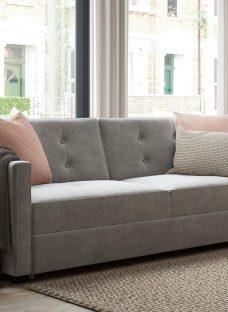 Belfast 3 Seater Sofa Bed - Misty GREY